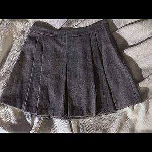 Vineyard vines Pleated wool skirt